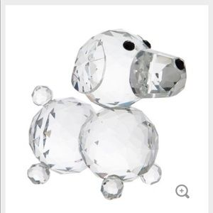 Glass Dog Figurine